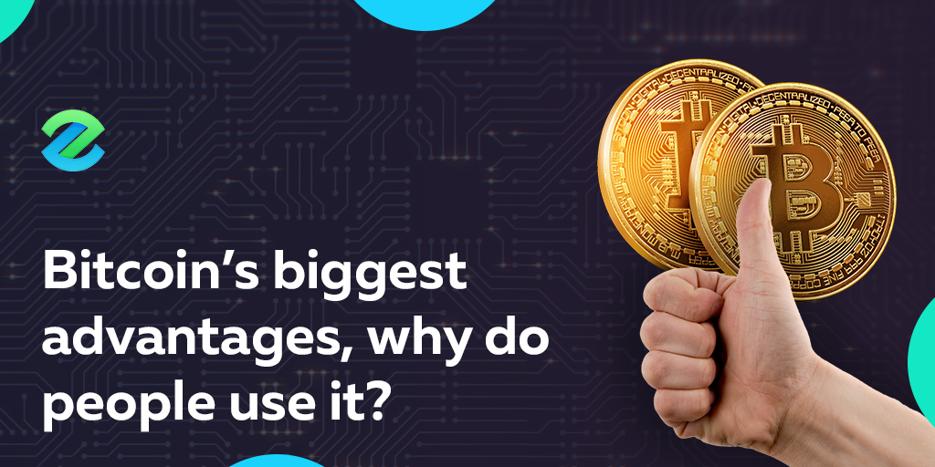 Advantages of using bitcoin
