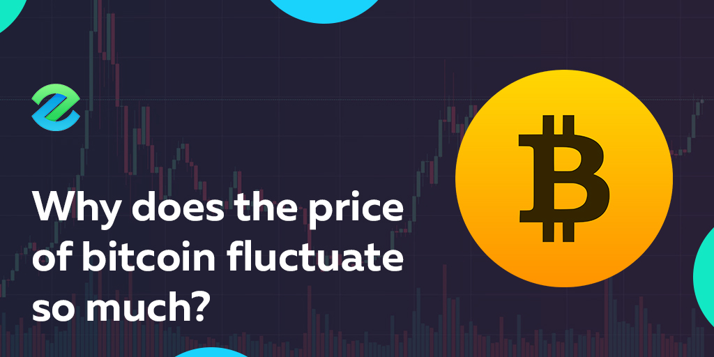 Bitcoin price volatility and fluctuation